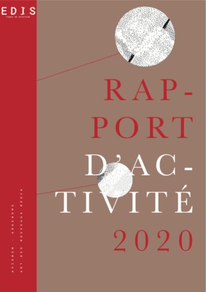 Couverture rapport d'activité 2019